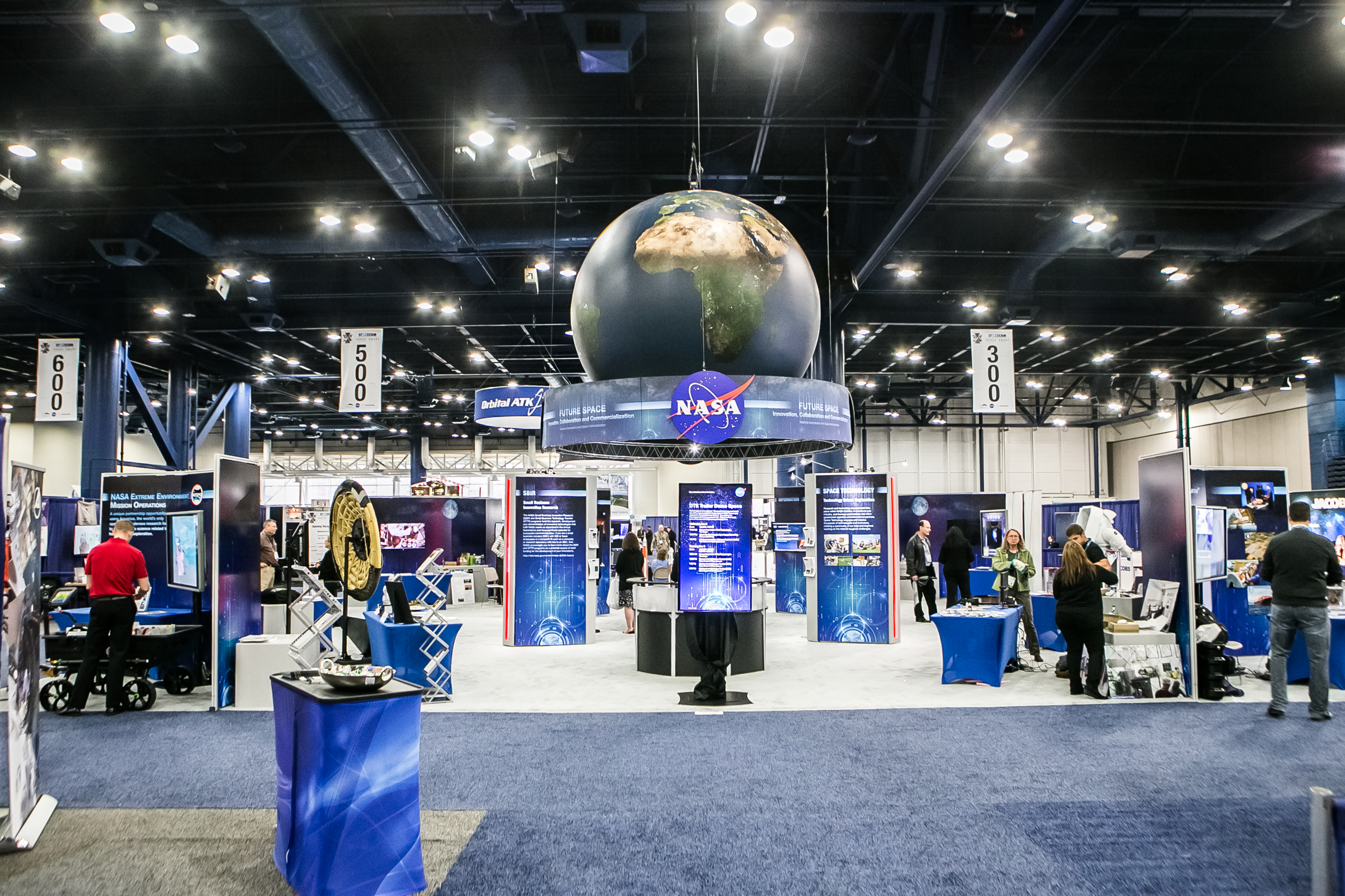 The NASA Center Theater at SpaceCom